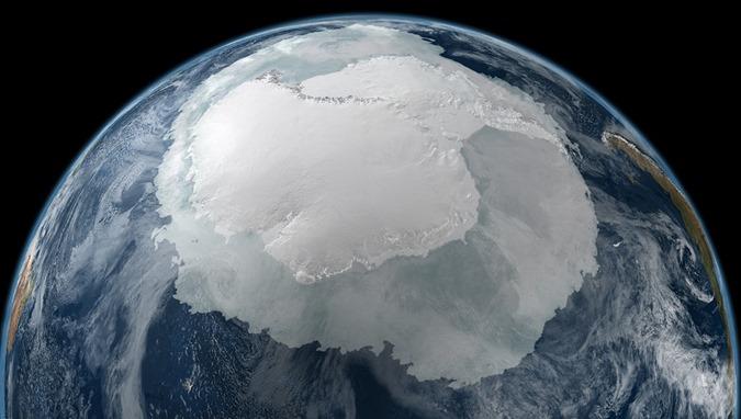 Mundo escondido sob a Antártida revelado 01