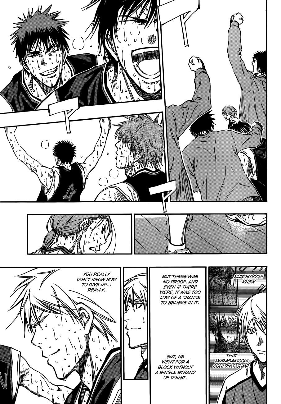 Kuroko no Basket Manga Chapter 169 - Image 05