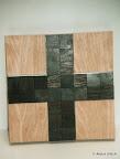 Kommunionkreuz für Judith, Detail, Holz, 2003