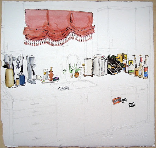 Kitchen. Artist Lisa Hsia