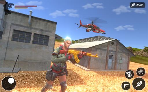 Fire Battle Squad Survival: Free Fire strike game 1.0 screenshots 1