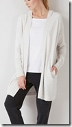 the White Company Cloud Marl Hooded Cardigan