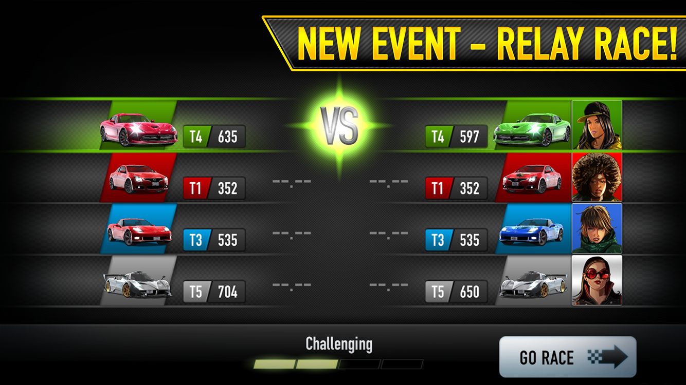 Preview CSR Racing V3.2.0
