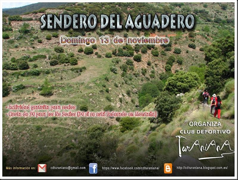 Cartel Senda del Aguadero