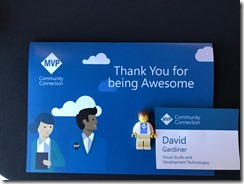 "Card with ""Thankyou for being awesome"""