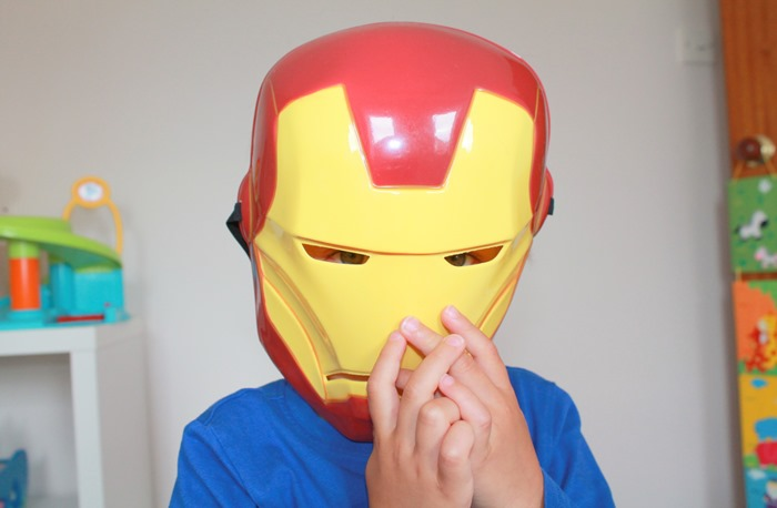 toddler-wearing-iron-man-mask