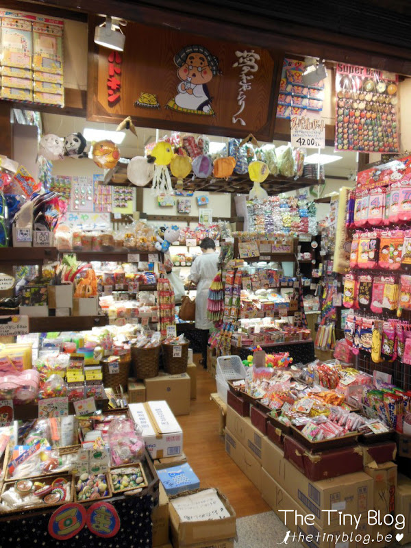 Traditional Japanese Sweets and Snacks Shop