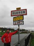 Bewijs van ons bezoek aan Oloron.