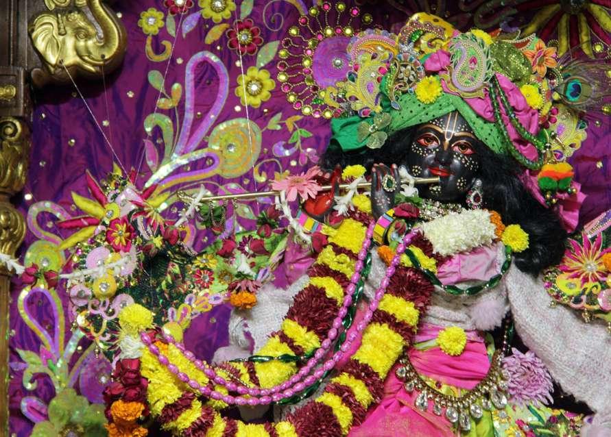 ISKCON Delhi Deity Darshan 18 Dec 2015 (2)