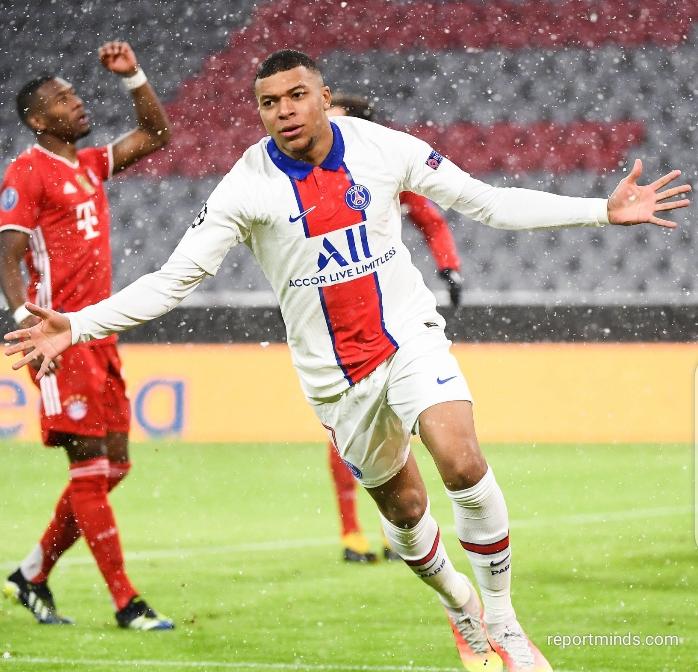 UEFA Champions League: Mbappe nets twice as PSG defeats Bayern Munich 3-2 in first leg quarter final Allianz Arena (Highlights) 2020-2021