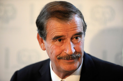 Former Mexican president in Twitter joust with Trump