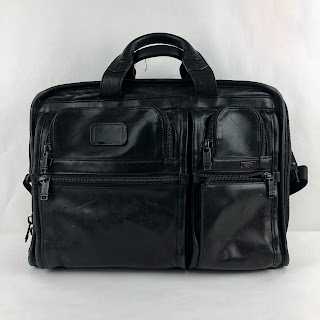 Tumi Leather Attache