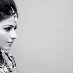 Indian Bride by Anurag Bhateja - Wedding Bride ( india, bride, dulhan )