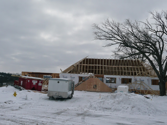 Building of new home in Waukesha, WI - P1030420.JPG
