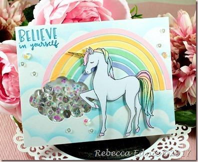 pastel party unicorn