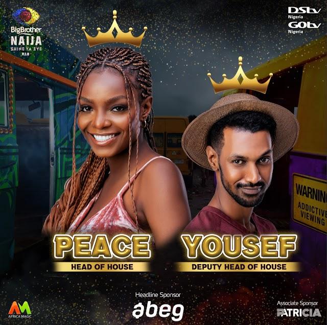 BBNaija Shine Ya Eye: Peace Wins The First Head of House Challenge! ~Omonaijablog