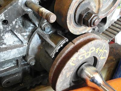 Cam pulley timing marks - Engine & Transmission - Jensen
