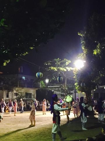 Eisa festival in Nakadomari