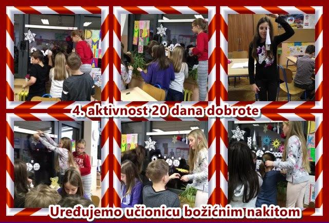 božićne čestitke ppt 4. aktivnost 20 dana dobrote   Izrađujemo božićne ukrase i  božićne čestitke ppt