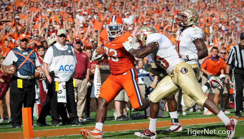 Clemson vs. Florida State - 1st Half Photos - 2011, Dwayne Allen, Florida State, Football