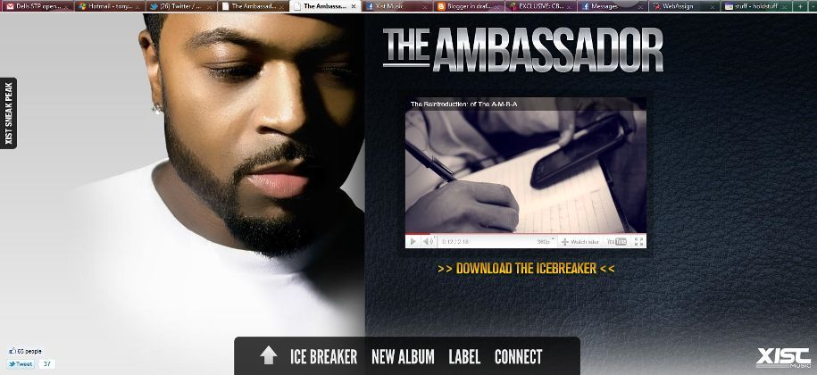 The ambassador because of your love download song
