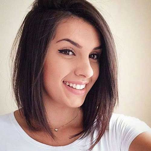 Bob cut For Chic ladies Women voted the best style 2018 7
