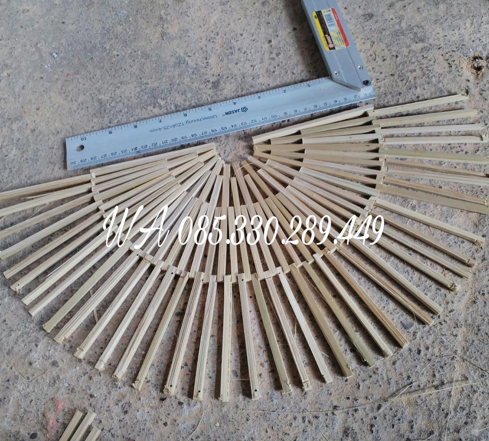 Kerajinan Souvenir Dari Kayu Limbah: Bambu Kreatif Desain