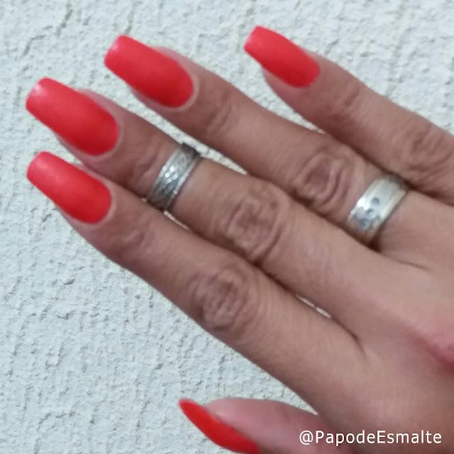 Esmalte Laranja Areia - Avon Color Trend