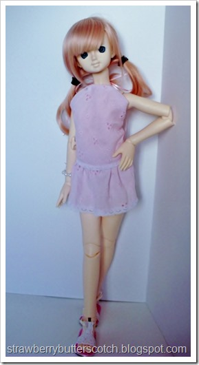 Pretty and Pink: From Dress to Cute Skirt and More: Cute doll skirt and halter top.