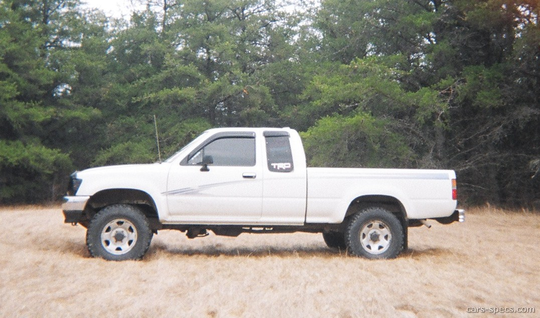 1995 Toyota Pickup Dx Extended Cab 2 4l 4 Cyl 5 Sd Manual