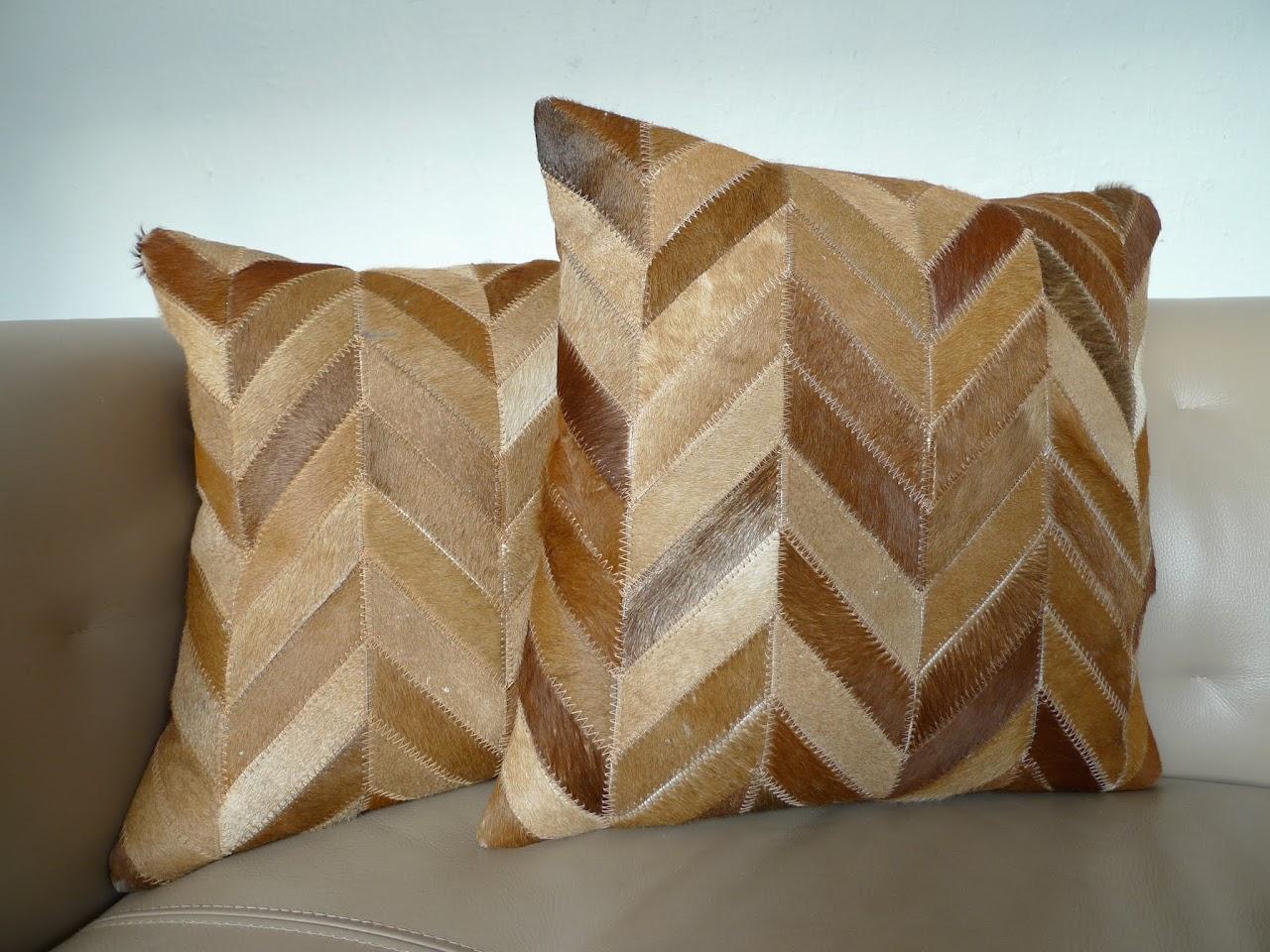 Safavieh Hide Pillow Pair 2