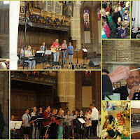31-8-2014 Openluchtdienst in de Grote Kerk