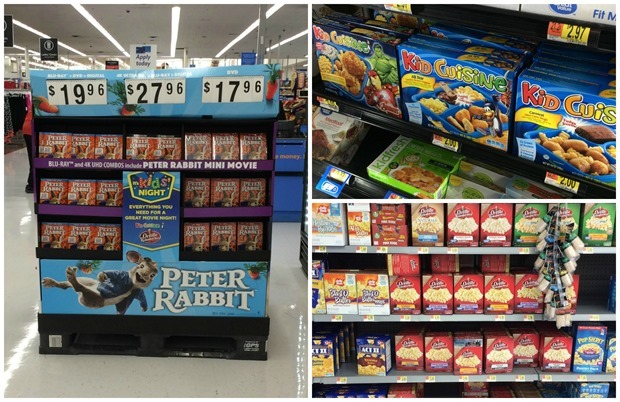 Movie Night with Peter Rabbit at Walmart