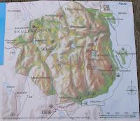 och en karta