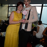 WWW.ENTSIMAGES.COM -    Sarah Brown and Lewis -Duncan Weedon    at     SO ....? With attitude event Penthouse , Leicester Square London August 15th 2013                                                Photo Mobis Photos/OIC 0203 174 1069