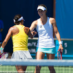 Kimiko Date-Krumm & Mandy Minella - 2015 Bank of the West Classic -DSC_4901.jpg