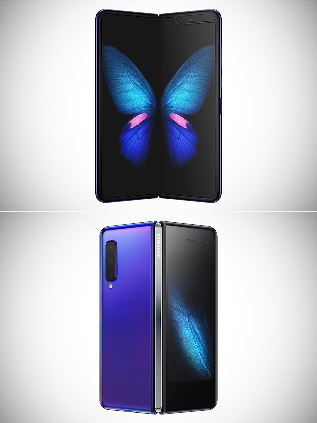 "Samsung galaxy fold with ""6"" cameras"