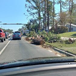 Hurricane Michael Aftermath in Upper Grand Lagoon and Panama City Beach