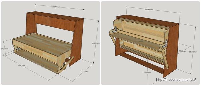 Как сделать мебель-трансформер