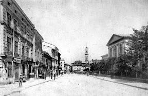 Львов. Улица князя Романа