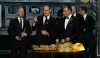 Inception-won-oscars-in-on-Cinematography-Visual-Effects-Sound-Mixing-Sound Editing-Writing (Original Screenplay)-Art Direction-MusicOscars-2011-academy-awards-2011-rare-moments-captured-photos-images-pics-22
