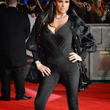 WWW.ENTSIMAGES.COM -    Katie Price  at The Hunger Games - Mockingjay - part 1 - UK film premiere at Odeon Leicester Square, London November 10th 2014Premiere of latest film in the Hunger Games franchise, which this time sees Katniss lead a rebellion against the tyrannical and corrupt Capitol.                                                    Photo Mobis Photos/OIC 0203 174 1069