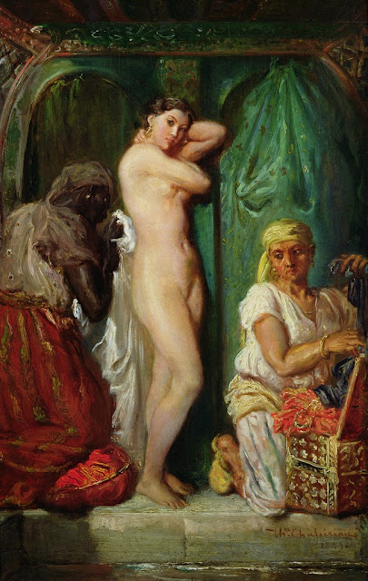 Théodore Chassériau - The Bath in the Harem