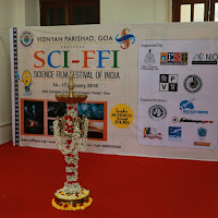 Opening ceremony of Science Film Festival of India 2016