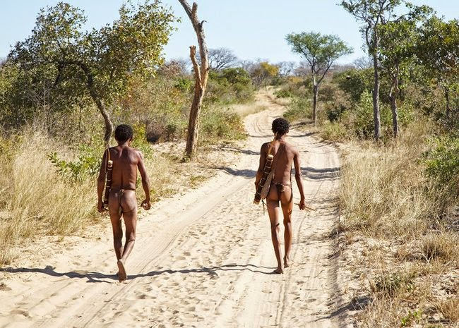 The oldest inhabitants are the San people, also known as the Khoisan or Bushmen.