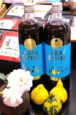 バンカ オリジナル商品:瓶入りアイスコーヒー(無糖)おかやま珈琲物語