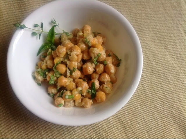The Edible Givens: Meatless Mondays: Chickpea Salad with ...