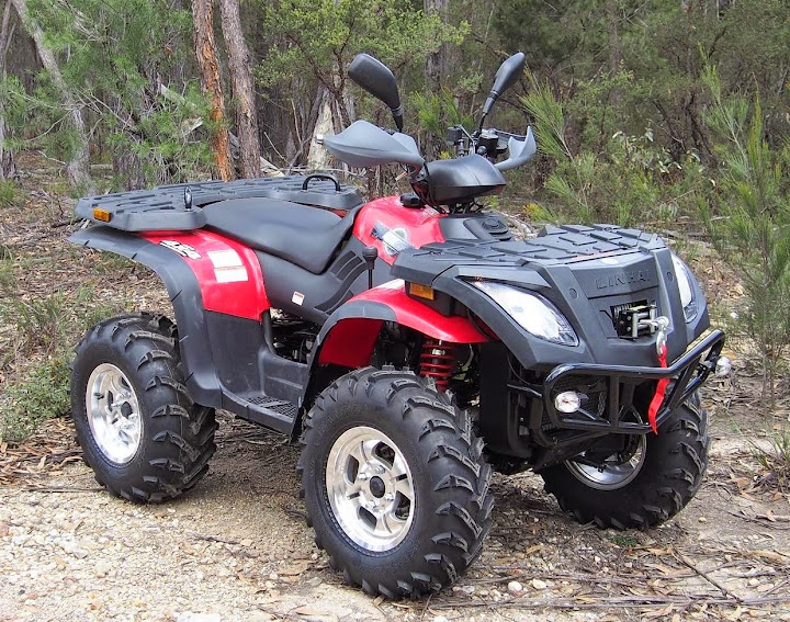 400cc Linhai Yamaha Farm Quad Bike ATV 4x4 Red