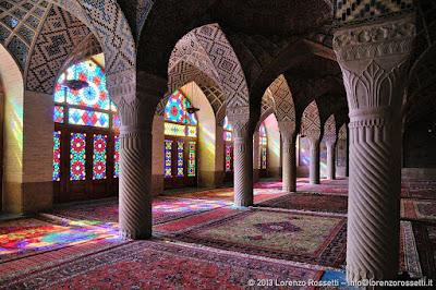 Moschea di Nasir al-Mulk, sala delle preghiere invernali