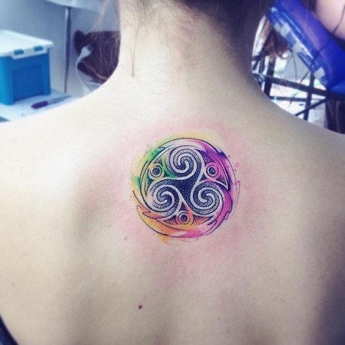 este_alucinante_aquarela_do_tatuagem_para_as_mulheres